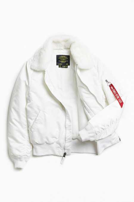 Alpha Industries B-15 Slim Fit Bomber Jacket