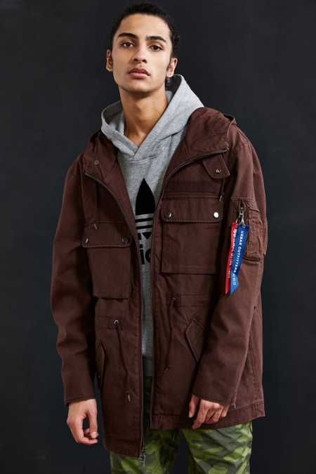 Alpha Industries + UO Long M-51 Parka Jacket
