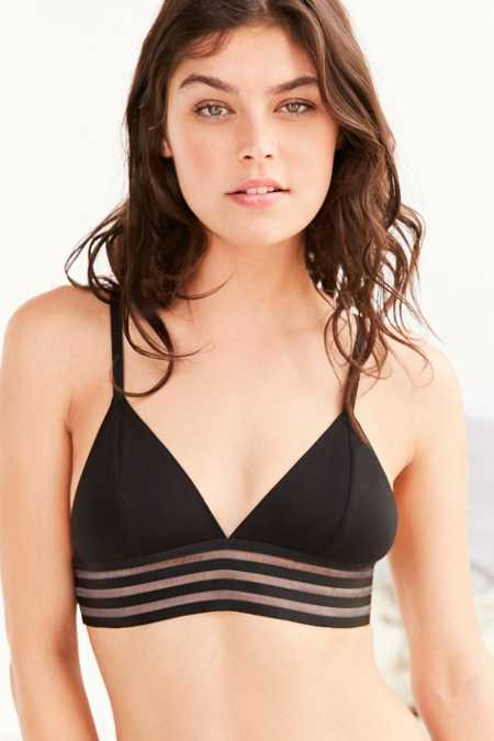 Out From Under Banded Triangle Bra