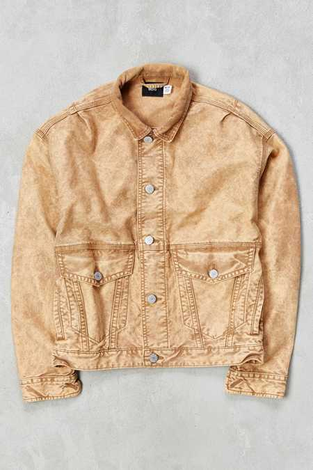 BDG Acid Wash Denim Relaxed Trucker Jacket