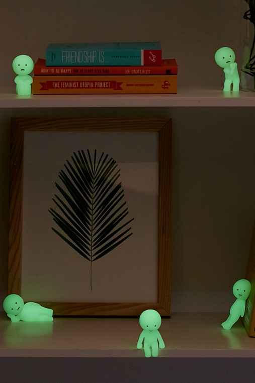 Glow-In-The-Dark Smiski Blind Box Figure,ASSORTED,ONE SIZE