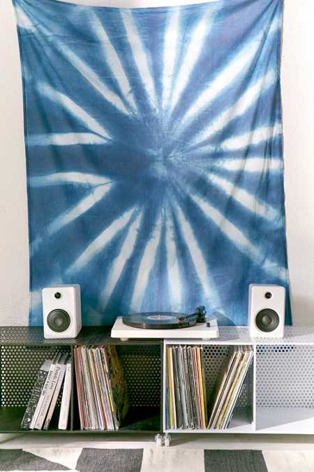 Graham Keegan Blue Shibori Tapestry