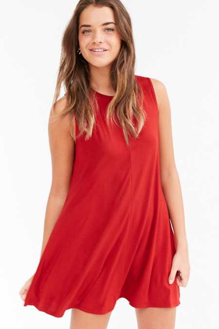 Cooperative Keyhole Knit Swing Dress