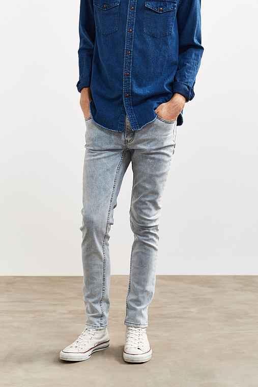 Cheap Monday Cold Acid Wash Skinny Jean,VINTAGE DENIM LIGHT,31