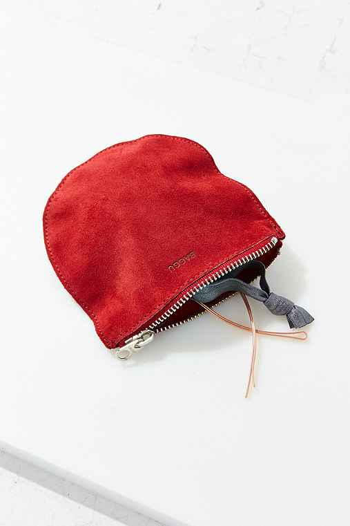 BAGGU Small Half-Moon Pouch,BERRY,ONE SIZE