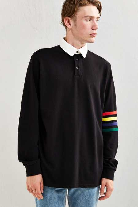 Lazy Oaf Arm Stripe Rugby Shirt