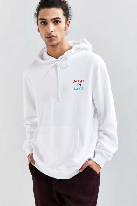 Lazy Oaf Face It Hoodie Sweatshirt