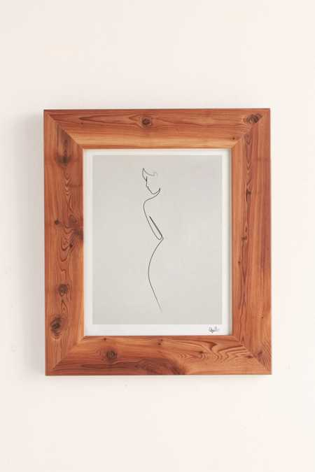 Quibe One Line Nude Art Print