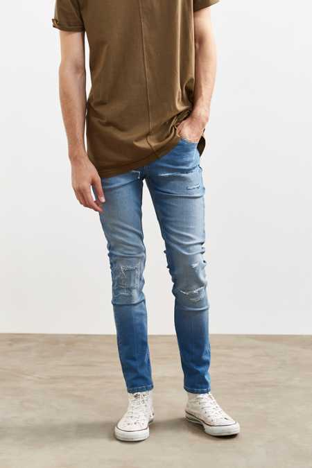 Cheap Monday Tight Break Blue Skinny Jean