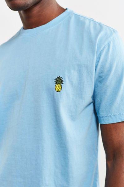 Embroidered Pineapple Tee