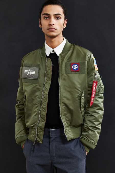 Alpha Industries MA-1 Flex Slim-Fit Jacket
