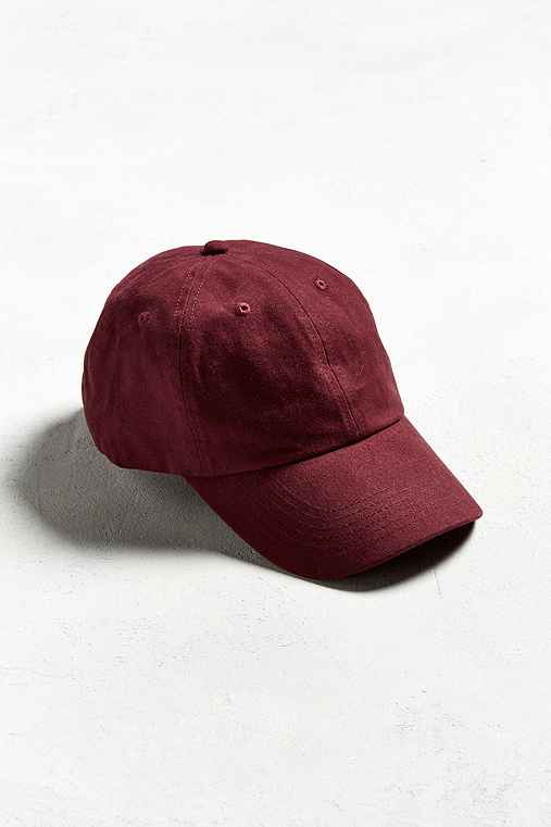 UO Curved Brim Baseball Hat,MAROON,ONE SIZE