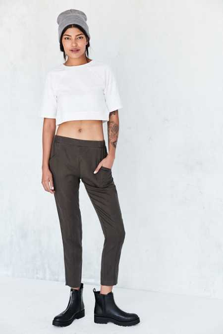 Silence + Noise Riley Washed Pull-On Pant