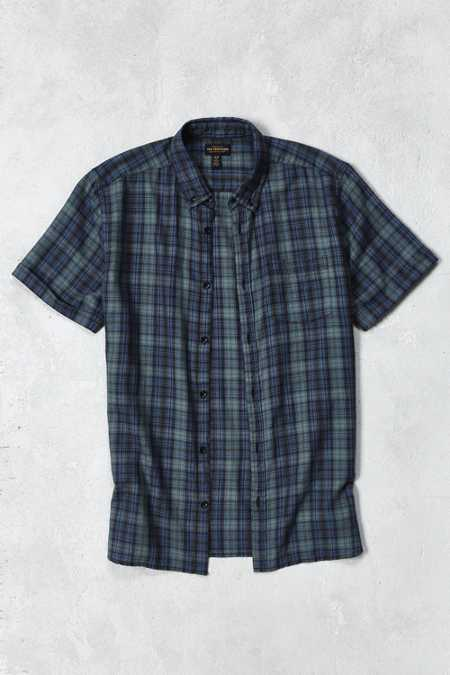 CPO Wyatt Plaid Short-Sleeve Button-Down Shirt