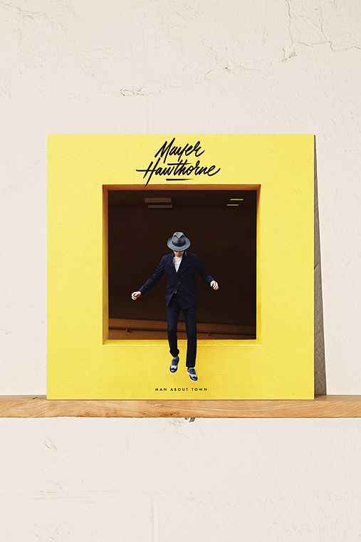 Mayer Hawthorne - Man About Town LP + MP3,BLACK,ONE SIZE