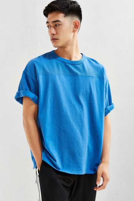 UO Blocked Football Tee