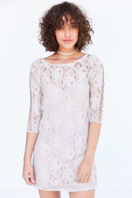 Gentle Fawn Hawk Lace Mini Dress