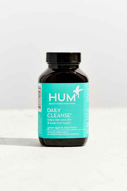 HUM Nutrition Vitamins,DAILY CLEANSE,ONE SIZE
