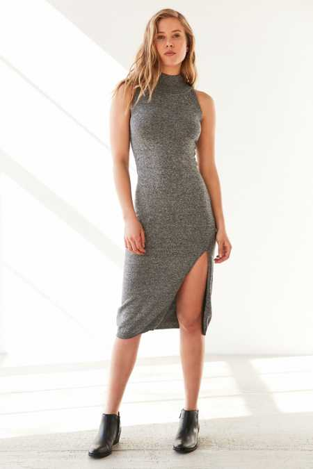 MINKPINK Temptation Sleeveless Mock Neck Dress