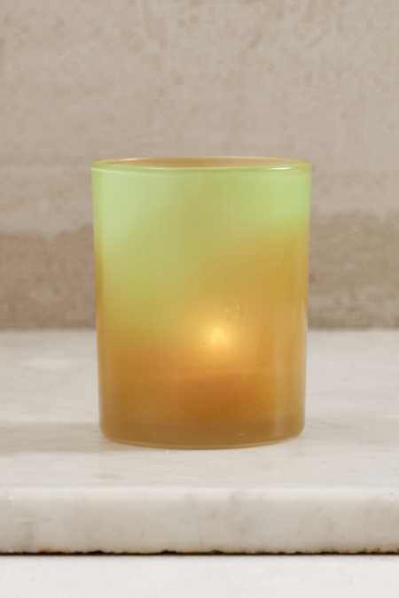 Color Changing Votive Holder + Tealight Candles Set