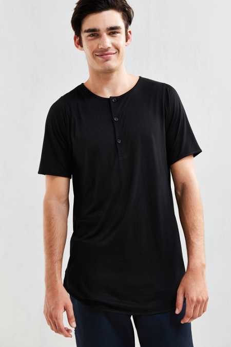 Publish Tet Scalloped Henley Tee