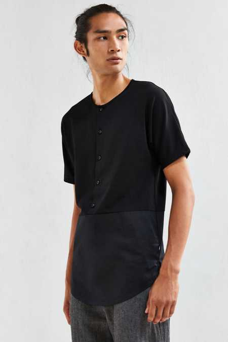Publish Amin Pieced Henley Tee