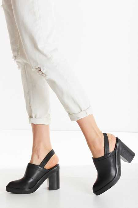 Intentionally Blank Moon Mule Heel