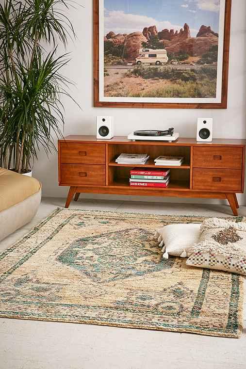 Jasmine Woven Tufted Wool Rug,BEIGE,4X6