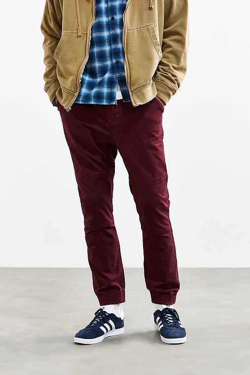 Without Walls Calvary Twill Trail Jogger Pant,RED,S