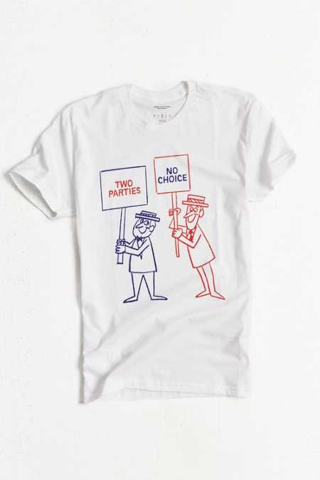 UO Two Parties Election Tee