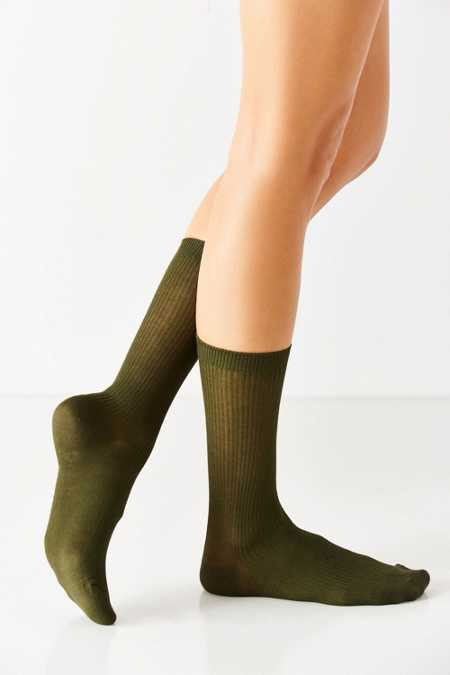 Basic Ribbed Trouser Sock