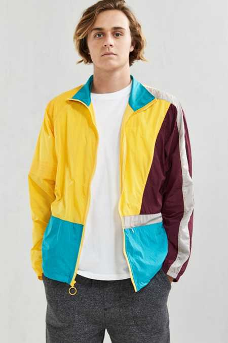 Without Walls Full Zip Colorblock Nylon Jacket