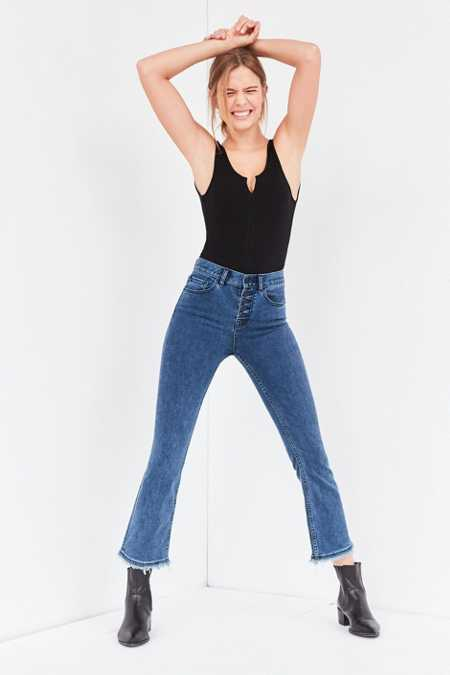 BDG Sharona High-Rise Crop Flare Jean
