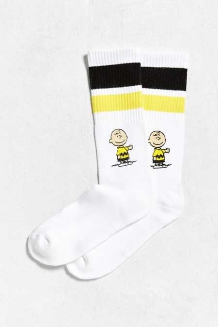 Charlie Brown Sport Stripe Sock