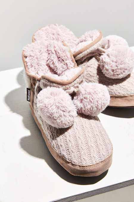 MUK LUKS Pennley Pompom Slipper