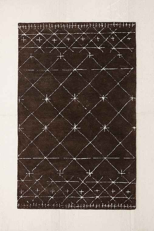 Kinney Tufted Wool Rug,BLACK,9X12