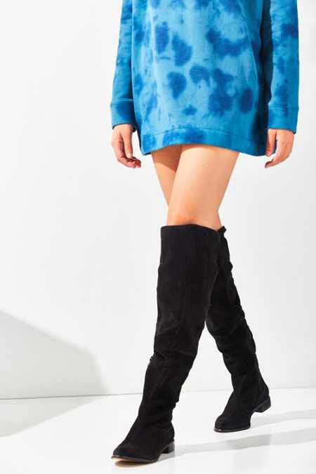 M4D3 Olympia Suede Over-The-Knee Boot