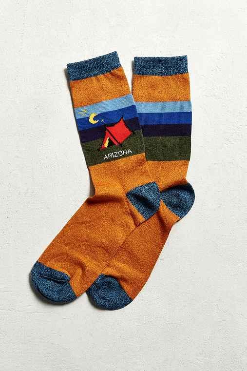 Arizona Sock,ORANGE,ONE SIZE