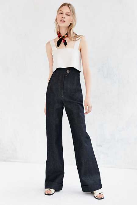 BDG Raw Denim Trouser