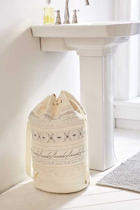 Marisol Stitched Laundry Bag