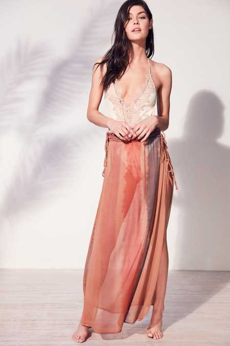 Out From Under Ombre Beach Skirt Cover-Up