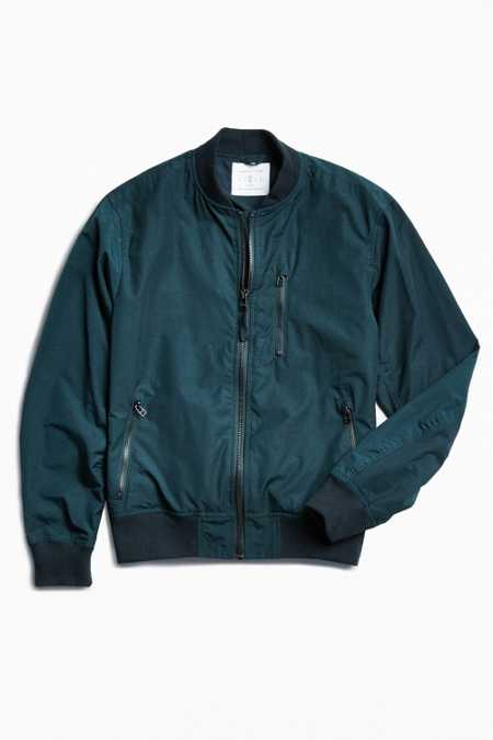 UO Nylon Ace Bomber Jacket