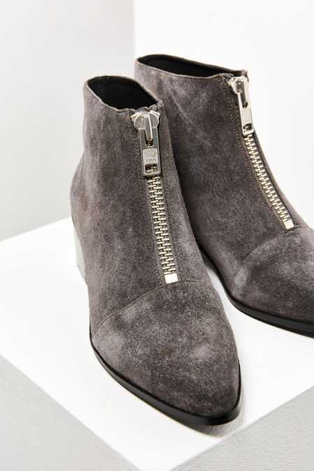 Grey City Winona Zipper Ankle Boot