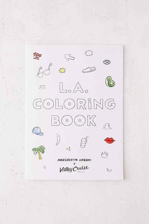 LA Coloring Book By Margherita Urbani