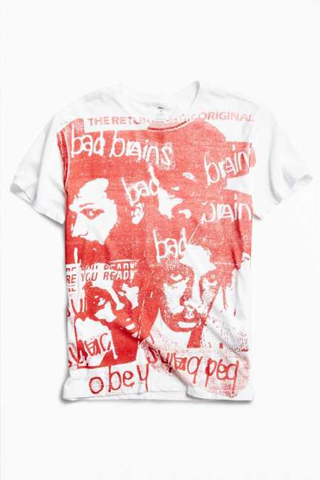 OBEY X Bad Brains Return Of Bad Brains Tee