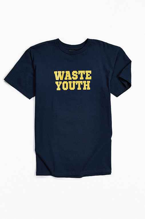 OBEY Waste Youth Tee,NAVY,L