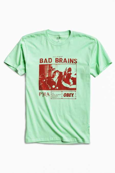 OBEY X Bad Brains PMA Photo Tee