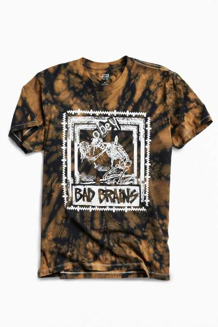 OBEY X Bad Brains Skeleton Tee