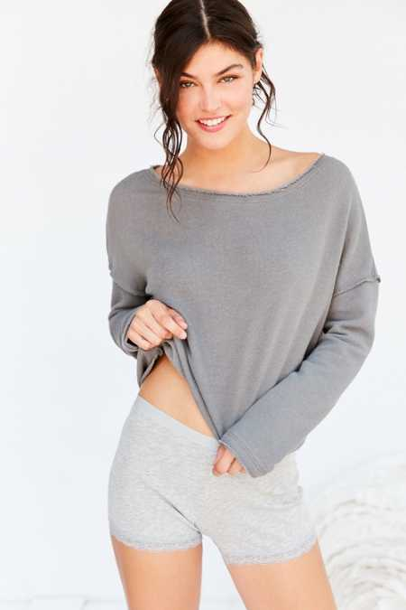 Truly Madly Deeply Liza Off-The-Shoulder Sweatshirt