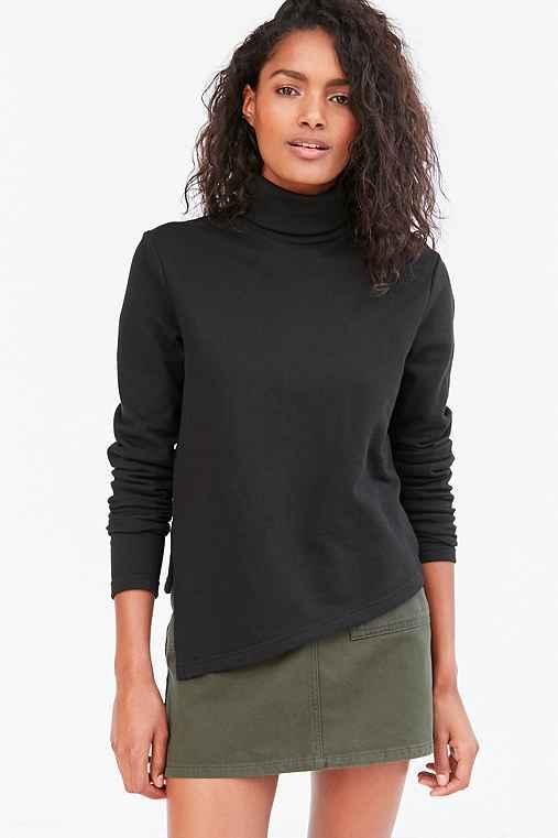 Cheap Monday Valid Turtleneck Sweater,BLACK,XS